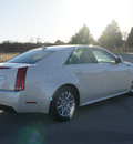 cadillac cts 2012 white sedan 3 0l luxury gasoline 6 cylinders rear wheel drive automatic 76206