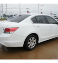honda accord 2010 white sedan lx gasoline 4 cylinders front wheel drive automatic 77034