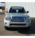 toyota tacoma 2009 silver prerunner v6 6 cylinders automatic with overdrive 77632