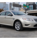 ford taurus 2010 gold sedan limited gasoline 6 cylinders front wheel drive automatic 77002