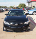 toyota camry 2012 black sedan se sport limited edition 4 cylinders 6 speed automatic 76053