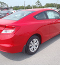 honda civic 2012 red coupe lx gasoline 4 cylinders front wheel drive automatic 28557