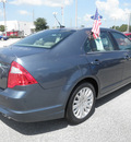 ford fusion hybrid 2012 blue sedan hybrid 4 cylinders front wheel drive automatic 32783