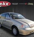 kia sedona 2005 gold van lx gasoline 6 cylinders front wheel drive automatic 60915