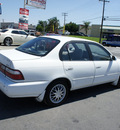 toyota corolla 1997 white sedan dx gasoline 4 cylinders front wheel drive automatic 92882