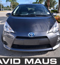 toyota prius 2012 gray hatchback c hybrid 4 cylinders front wheel drive automatic 32771