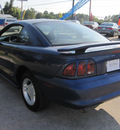 ford mustang 1996 blue coupe gasoline v6 rear wheel drive automatic 77379