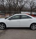 pontiac g6 2009 white sedan gasoline 6 cylinders front wheel drive automatic 76087