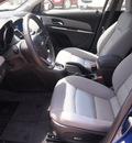 chevrolet cruze 2012 blue sedan eco gasoline 4 cylinders front wheel drive automatic 75087