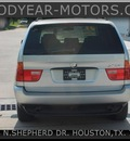 bmw x5 2001 silver suv awd gasoline 6 cylinders all whee drive automatic 77008