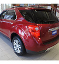 chevrolet equinox 2012 red ltz flex fuel 4 cylinders front wheel drive automatic 78028