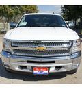 chevrolet silverado 1500 2013 white lt flex fuel v8 2 wheel drive automatic 77566