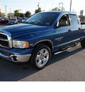 dodge ram 1500 2005 blue pickup truck slt lone star ed  gasoline 8 cylinders rear wheel drive automatic 78224