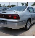 chevrolet impala 2002 silver sedan ls gasoline 6 cylinders front wheel drive automatic 77018