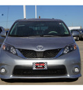 toyota sienna 2011 silver van se 8 passenger gasoline 6 cylinders front wheel drive automatic 77469