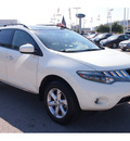 nissan murano 2009 off white suv sl gasoline 6 cylinders all whee drive automatic 77074