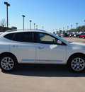 nissan rogue 2012 white sl 4 cylinders automatic 76018