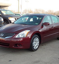 nissan altima 2011 dk  red sedan 2 5 s 4 cylinders shiftable automatic 77074