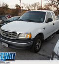 ford f 150 2000 off white xl v8 automatic 75062