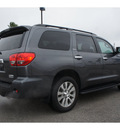 toyota sequoia 2011 gray suv limited gasoline 8 cylinders 2 wheel drive automatic 78521