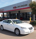 lexus es 350 2009 white sedan gasoline 6 cylinders front wheel drive automatic 76053