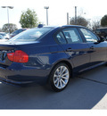 bmw 328i 2011 blue sedan gasoline 6 cylinders rear wheel drive automatic 78729