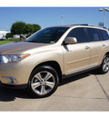 toyota highlander 2011 tan suv limited gasoline 6 cylinders front wheel drive automatic 78729