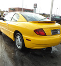 pontiac sunfire 2003 yellow coupe 4 cylinders dohc automatic 45036