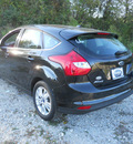 ford focus 2012 black hatchback sel flex fuel 4 cylinders front wheel drive automatic 75606