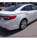 hyundai azera 2012 white sedan gasoline 6 cylinders front wheel drive automatic 77074