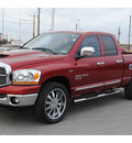 dodge ram 1500 2006 red pickup truck slt gasoline 8 cylinders rear wheel drive automatic with overdrive 77037