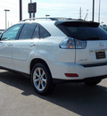lexus rx 350 2009 white suv gasoline 6 cylinders front wheel drive automatic 77074
