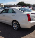 cadillac ats 2013 white sedan 2 0l premium gasoline 4 cylinders rear wheel drive automatic 77074