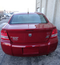 dodge avenger 2008 red sedan sxt 6 cylinders front wheel drive automatic 60443