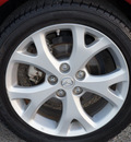 mazda mazda3 2009 dk  red sedan i touring value gasoline 4 cylinders front wheel drive 5 speed manual 75080