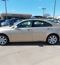 lexus es 350 2008 gold sedan gasoline 6 cylinders front wheel drive shiftable automatic 77074
