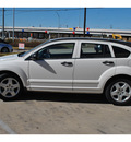 dodge caliber 2008 white wagon sxt 4 cylinders cont  variable trans  78233