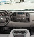 chevrolet silverado 2500hd 2012 white work truck gasoline 8 cylinders 4 wheel drive automatic 76206