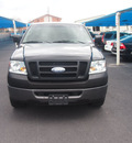 ford f 150 2007 black pickup truck xl gasoline 6 cylinders rear wheel drive automatic 76234