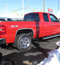chevrolet silverado 1500 2011 red ltz 8 cylinders automatic 45840