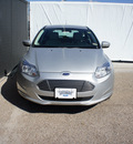 ford focus 2013 silver hatchback electric electric automatic 75235