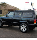 jeep cherokee 1999 black suv sport 6 cylinders automatic 76543