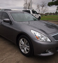infiniti g37 2012 beige sedan gasoline 6 cylinders rear wheel drive automatic 77539