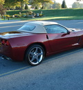 chevrolet corvette 2007 burgundy convertable 3lt gasoline v8 rear wheel drive automatic 17972