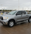 toyota tundra 2012 silver grade gasoline 8 cylinders 2 wheel drive automatic 76116