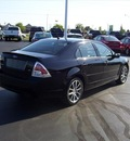 ford fusion 2008 black sedan se gasoline 4 cylinders front wheel drive automatic 14424