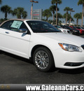 chrysler 200 convertible 2013 white limited flex fuel 6 cylinders front wheel drive automatic 33912