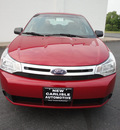 ford focus 2011 sangria red sedan se gasoline 4 cylinders front wheel drive automatic 45344
