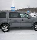 honda pilot 2011 gray suv ex l gasoline 6 cylinders 4 wheel drive 5 speed automatic 13502