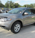nissan murano 2012 gray suv sl gasoline 6 cylinders front wheel drive automatic 33884